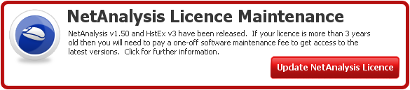 NetAnalysis v1.50 Licence Maintenance Information