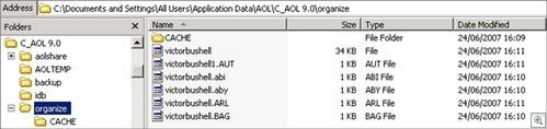 AOL_Folder_Structure