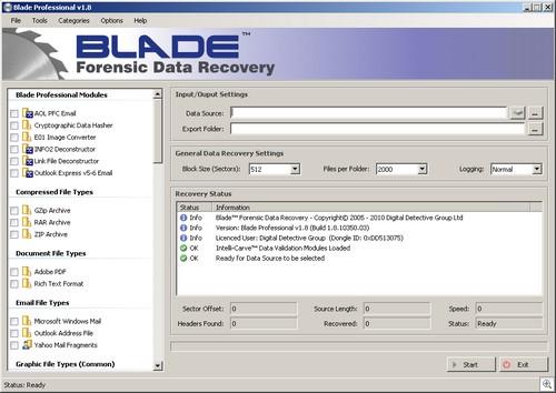 Digital Detective Blade v1.8 Professional