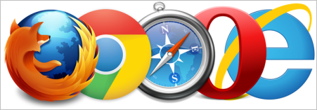 Digital Detective NetAnalysis Supports Mozilla Firefox - Google Chrome - Microsoft Internet Explorer - Apple Safari - Opera