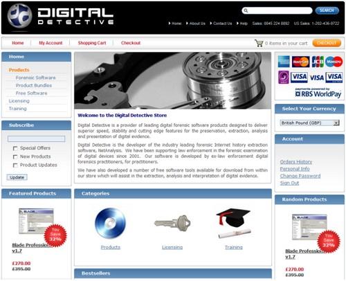 Digital_Detective_Online_Store