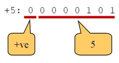 Número_Binário Positivo