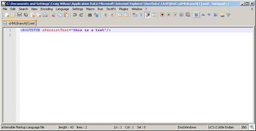 Userdata File
