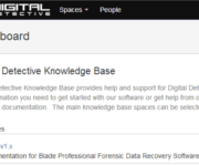 Digital Detective Knowledge Base