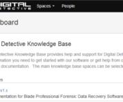 Digital Detective Knowledge Base