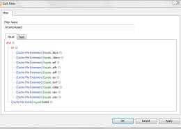NetAnalysis v2 Visual Filter Editor