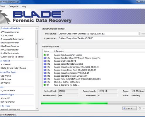 Digital Detective Blade Running