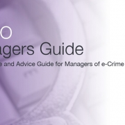 Front page of the ACPO Manager Guide: Good Practice and Advice for Managers of e-Crime Investigation
