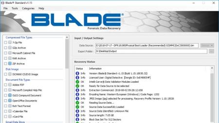 Digital Detective Blade Standard Product