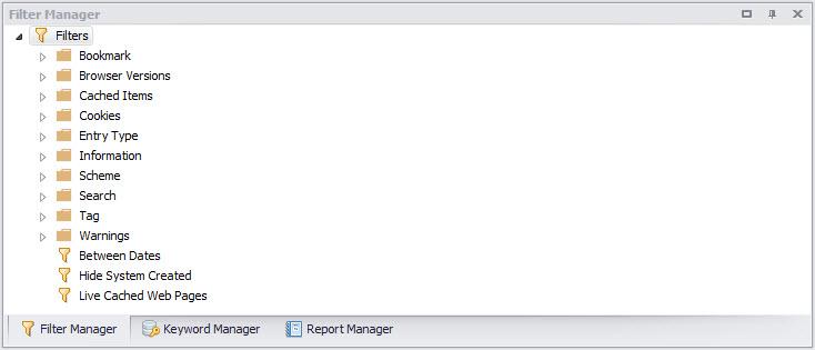 NetAnalysis v2 Filter Manager
