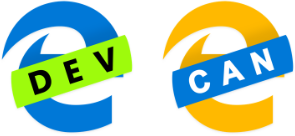 Microsoft Edge Chromium Dev and Canary Logos