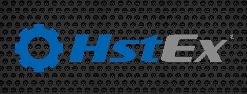 Digital Detective HstEx Logo on Dark Background